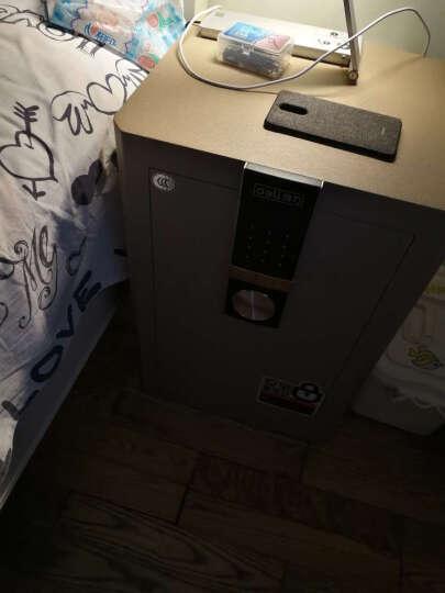 得力(deli)圣骑士系列3C认证防盗保险柜 高62cm家用办公密码保险箱 33146 晒单图