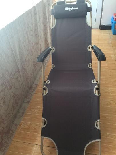 凯速折叠椅折叠床户外休闲躺椅陪护床午睡床坐躺两用178版折叠躺椅FC27灰色 晒单图