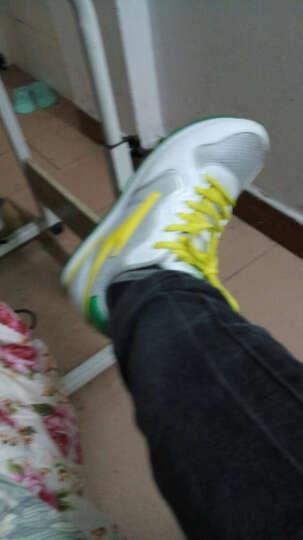 鸿星尔克(ERKE)男滑板鞋 轻便舒适防滑耐磨经典情侣休闲鞋 潮流街头板鞋 运动鞋男 正白/正黑(1106) 42 晒单图
