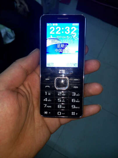 守护宝(上海中兴)L550 黑色 直板按键 金属质感 超长待机  移动联通2G 双卡双待 老人手机 学生备用功能机 晒单图