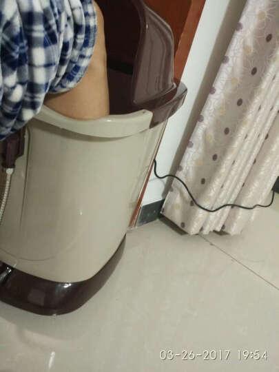 康恩寿KES-807A/B电动全自动按摩足浴盆超高深桶洗脚盆加热泡脚桶脚部按摩器 脚动版 晒单图