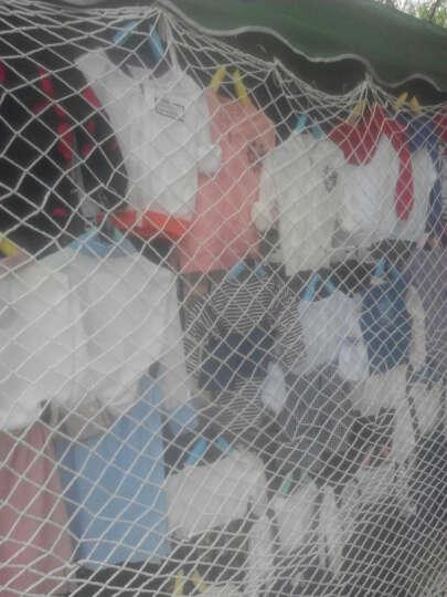 聚雅轩 安全网防护网 建筑防坠网 儿童防护网 户外拓展尼龙隔离网装饰网球门网 定做尺寸,1平方价格,单拍无效 6mm绳子直径5*5cm网孔 晒单图