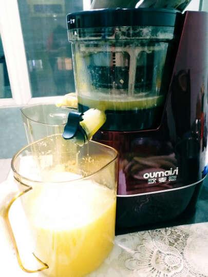 欧麦斯(OUMAISI) Y828大口径原汁机低速榨汁机家用果汁机 象牙红 晒单图