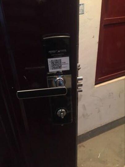 凯迪仕(KAADAS) 指纹锁K5-5155 智能锁密码锁 家用防盗门锁 电子密码锁 智能版亮铬银 晒单图