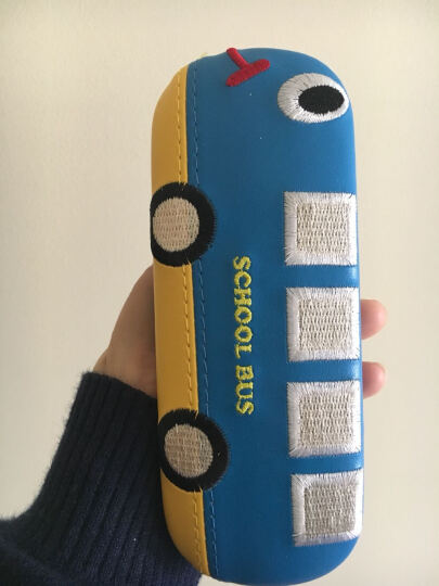 不是眼镜!卡通眼镜盒!   时尚可爱儿童眼镜盒汽车款眼镜盒女孩镜盒男童镜盒大人镜盒 蓝色汽车镜盒 晒单图
