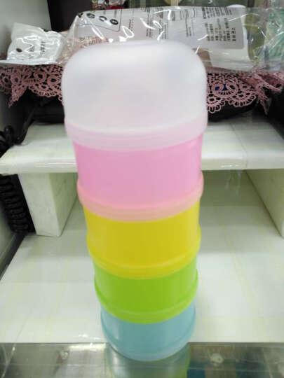 Kidsmile凯德氏婴儿4层大容量奶粉盒宝宝便携奶粉盒奶粉罐零食盒 奶粉盒+零食盒 晒单图