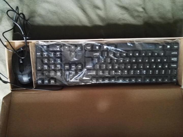现代(HYUNDAI)HY-MA75 有线USB接口键鼠套装 黑色 晒单图