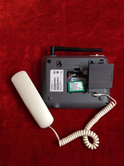 华为(HUAWEI)F317 无线固话座机 插卡电话机 移动手机卡白色 晒单图