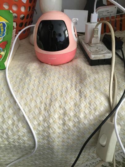 roobo pudding二代布丁s机器人语音对话早教学习声控儿童玩具 智趣对话 英文学习 麦兜版布丁S 晒单图