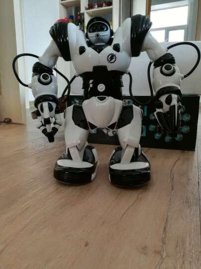 JIAQI机器人智能玩具 电动遥控电动语音智能机器人罗本艾特儿童玩具礼物 机器人恐龙 晒单图