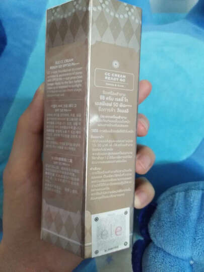泰国ELE防晒隔离cc霜 裸妆遮瑕 打底隔离 ele防晒隔离cc霜新包装 晒单图