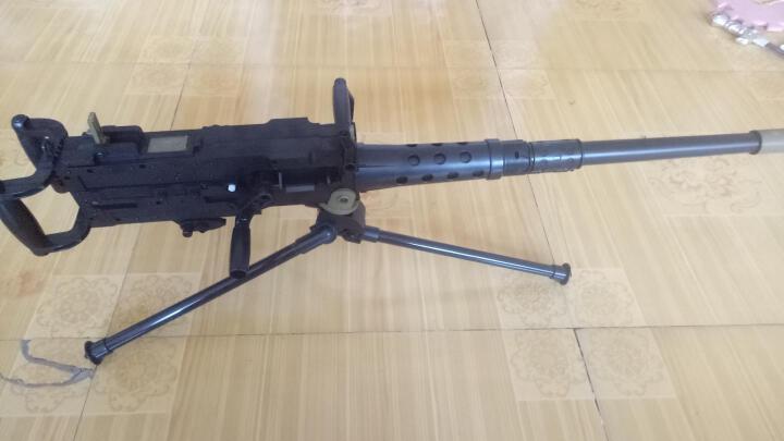 儿童玩具枪电动连发水弹枪水晶弹枪子弹冲锋枪狙击男孩手枪玩具 M20杨楷大炮手摇连发枪 晒单图