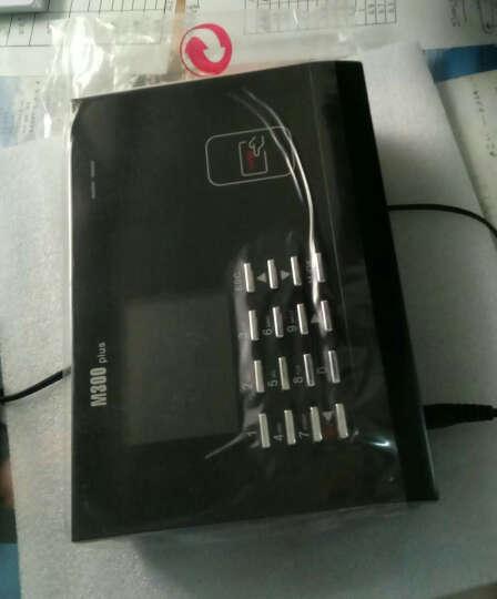 中控智慧(ZKTeco) M300PLUS/射频刷卡考勤机上班签到打卡机网络通讯下载 标配+ID刷卡 晒单图