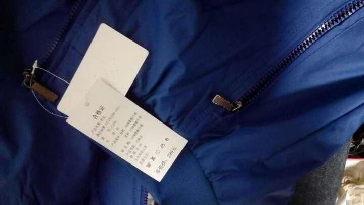 贺斯达运动夹克2017春装运动夹克风衣男外套男装跑步运动服休闲保暖防风运动上衣男 J1236蓝色 XL/175男 晒单图