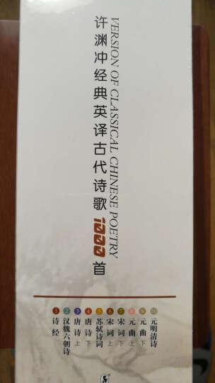 许渊冲经典英译:古代诗歌1000首(套装共10册) 晒单图