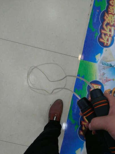 酷峰 专业轴承跳绳减肥健身成人学生儿童中考专用可调节绳子 负重钢丝款-双层包芯钢丝绳(送收纳袋) 晒单图