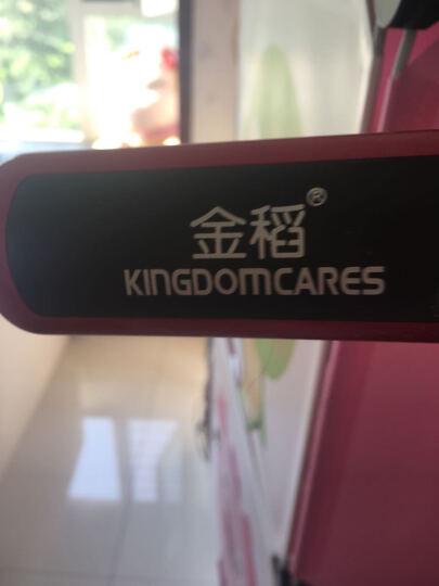 金稻(KINGDOM) 直发梳陶瓷防烫不伤发负离子梳 直发器卷发两用KD-388 白色 晒单图