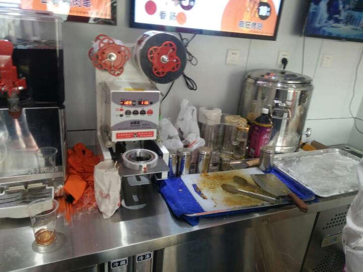 乐创(lecon)冷藏工作台商用冷柜操作台冰柜保鲜冷藏操作台冷冻冰柜厨房卧式冰箱双温不锈钢平冷水吧台 1.2*0.6*0.8米 全冷藏(保鲜) 晒单图