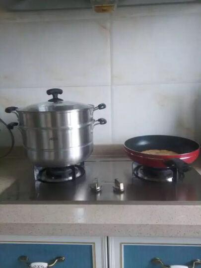 爱仕达ASD 28cm不锈钢蒸锅JX1528 二层可作火锅汤锅蒸锅用 防烫设计 晒单图