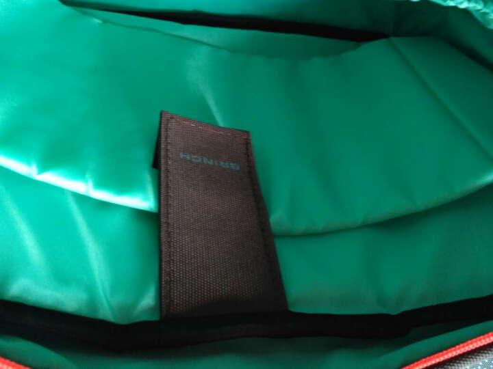 英制(BRINCH) 电脑包 14.1-14.4英寸男女士日韩风单肩/手提电脑专用包BW-127灰色 晒单图