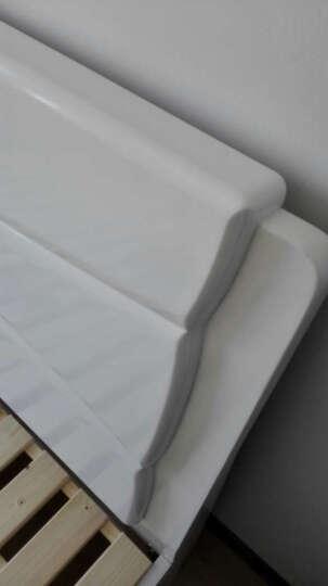 春巢家居(CHUNCHAO) 实木床  双人床1.2 1.5 1.8米床 气高箱储物床 单床【象牙白】 1.5*2米---标准床 晒单图
