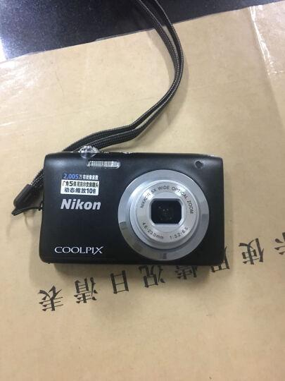 尼康(NIKON) Coolpix A100 轻便携型数码相机/卡片相机 黑色 套餐一(16g卡+相机包+清洁套+读卡器) 晒单图