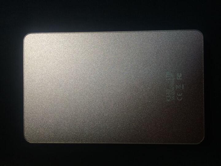 朗科(Netac)智悦 1TB USB3.0 全金属无螺孔机身 加密移动硬盘  玫瑰金 晒单图