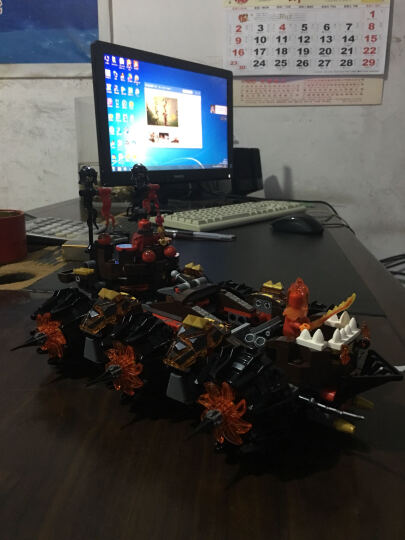 乐高 未来骑士团系列 8岁-14岁 魔炎上将的末日攻城车 70321 儿童 积木 玩具LEGO(售完即止) 晒单图