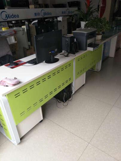 汉晨(HC) 北京办公家具 职员办公桌椅组合屏风卡座2/4/6/8人员工位 配套键盘托 晒单图