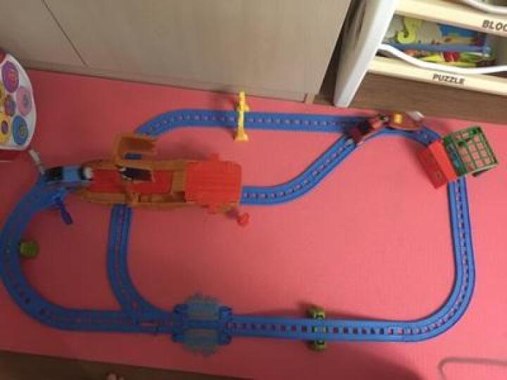 托马斯和朋友(THOMAS&FRIENDS)托马斯小火车轨道车电动系列儿童男孩玩具火车套装儿童节礼物 电动小火车BGJ69詹姆士BGM86 晒单图