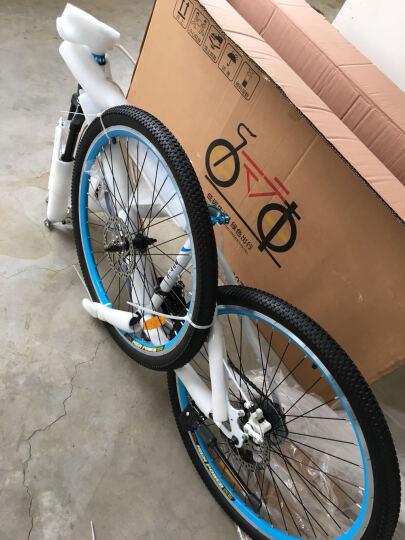 洛克菲勒(rockefeller)R400/26寸/24速山地车/轴承中轴/培林前后花鼓/双碟刹自行车 晒单图