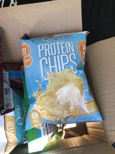 Quest美国进口乳清蛋白薯片高蛋白低脂肪低热量低糖低碳水运动营养补剂健身零食 32g/包 干酪酸奶味 晒单图