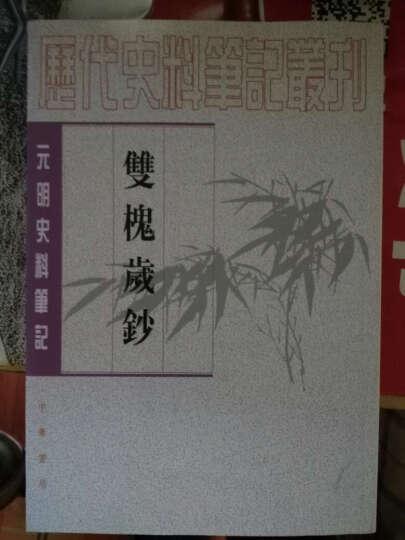 历代史料笔记丛刊·元明史料笔记:双槐岁钞(繁体坚排版) 晒单图