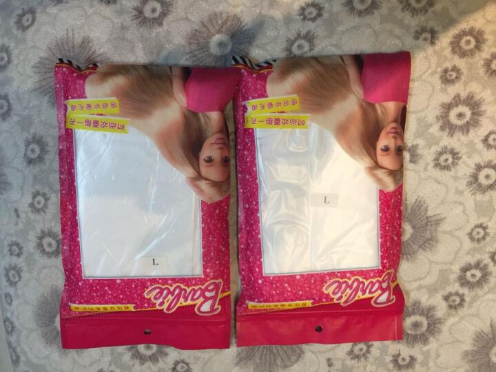 芭比(Barbie) 儿童连裤袜女童打底袜天鹅绒夏季丝袜长筒袜舞蹈袜薄款纯色 白色 L码(适合9-12岁) 晒单图