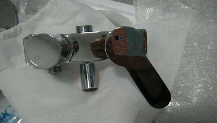 宝生元(DGPOSY)全铜龙头淋浴花洒套装喷枪增压花洒妇洗净身器 TL1013方形(不锈钢顶喷) 晒单图