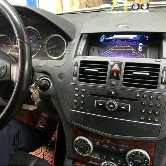 奔驰老款C180/C200C260/GLK300车载DVD导航安卓导航仪GPS导航包安装 奔驰GLK级 安卓四核+倒车影像+记录仪+内置胎压监测一体机 晒单图