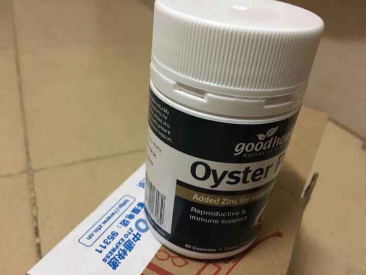 好健康(GOOD HEALTH) 牡蛎精华片生蚝精胶囊成人保健品 60粒 1瓶装 晒单图