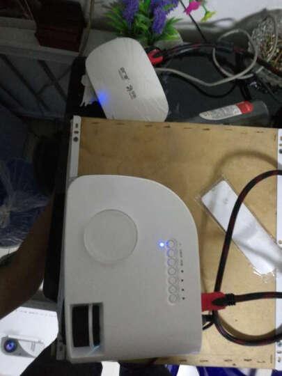 瑞格尔 微型投影仪 家用迷你便携式投影机 高清支持1080P 套餐四 wifi上网升级版+VGA线 晒单图
