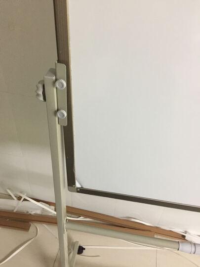 丽博士  白板 黑板 移动  架子 看板 办公 会议 教学 培训  磁性 写字板  书写 100*120cmN双面白板(含移动式支架) 晒单图