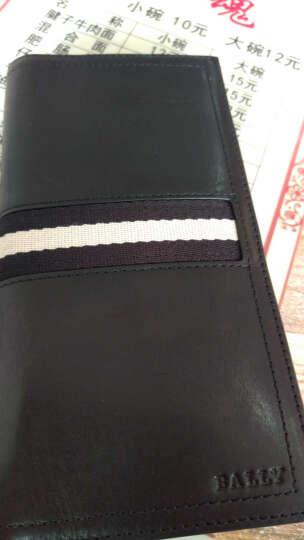 【京东专营】巴利(BALLY)男包 男士牛皮钱包 长款两折钱夹 全球购钱包 TALIRO黑色 晒单图