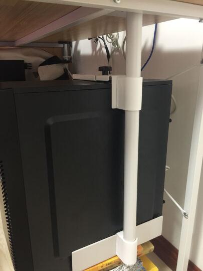 众爱空间电脑主机托白色烤漆主机箱托盘全国包邮悬挂式钢制台式机主机架 晒单图
