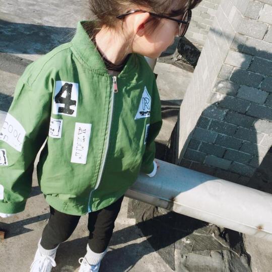 女童外套2019新款儿童棒球服春秋上衣中大童韩版夹克开衫潮 粉红色 160(偏小半码,建议身高150cm) 晒单图