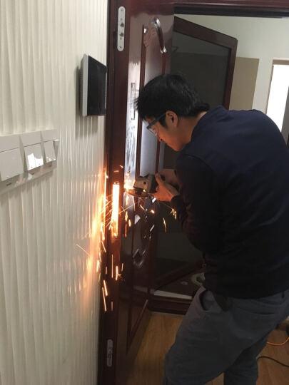 松下(Panasonic)电子锁V-N630CL 智能指纹锁 家用防盗密码锁 左开 古铜色 晒单图