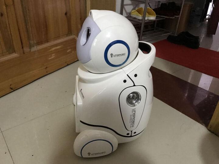 爱乐优智能早教机器人 儿童故事学习机器人小优声控第三代 远程监控家庭教育陪伴玩具 小优U03s-白色 晒单图