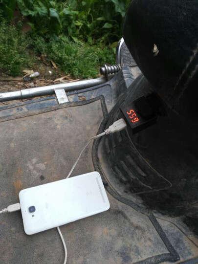 凤燕 电动车车载手机充电器48v60v72v 电瓶车车载USB充手机转换器接头1A 2A 升级版2A+安卓线  数据线 晒单图