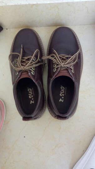 走索(Z.SUO)男鞋春夏季休闲鞋男潮流小白鞋低帮户外工装鞋男 白色208 41 晒单图