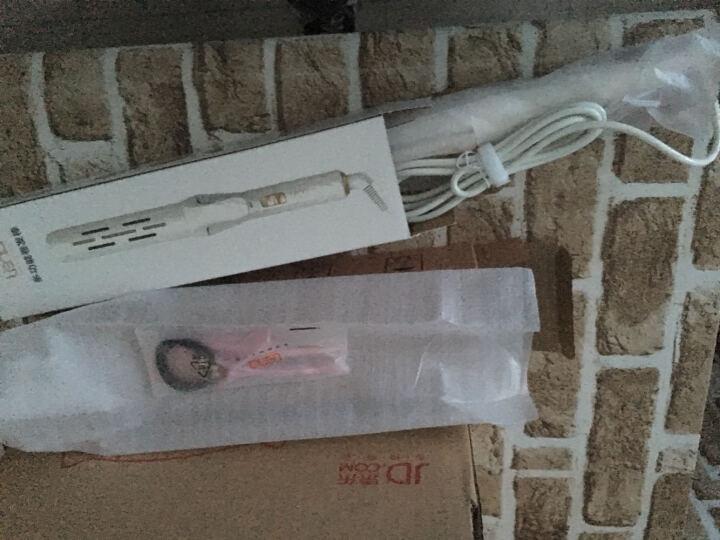 lena 卷发棒 卷直两用 能做9种发型卷发器 精油陶瓷直发器夹板 内扣刘海梨花大波浪S6 晒单图