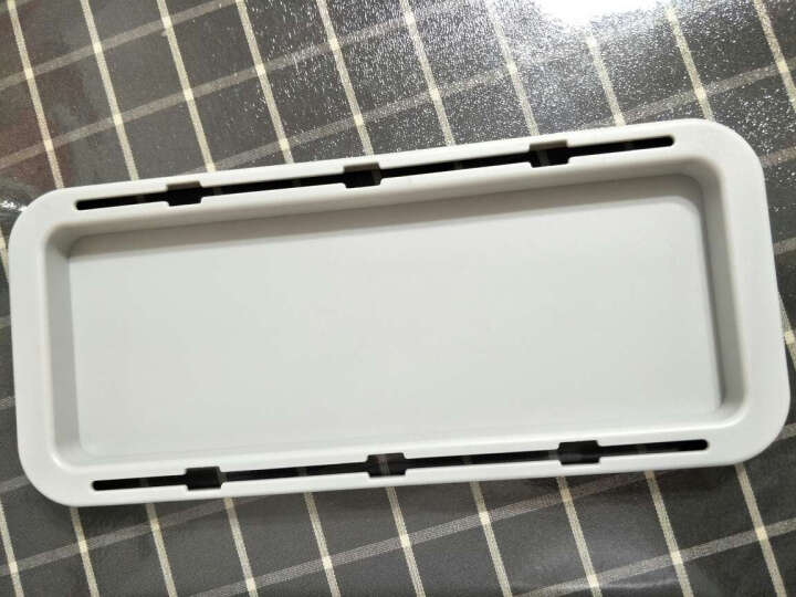 QIC PBD-18-WH 插座/插线板/排插理线收纳盒 笔记本电源线收纳集线盒 充电器数据线整理盒 升级版 白 晒单图