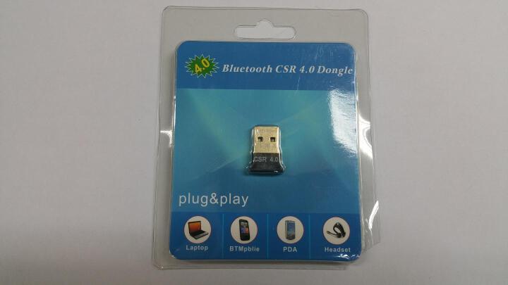 蓝牙适配器4.0 USB蓝牙接收器音频发射器 适用于笔记本台式电脑创意配件 黑色 晒单图