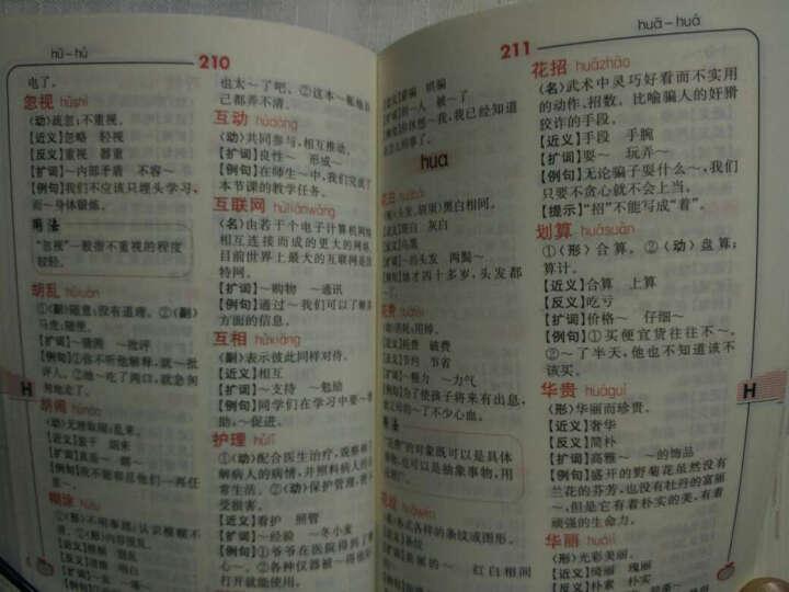 小学生多功能词语词典(双色版) 晒单图